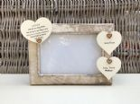 Shabby personalised Chic Photo Frame Auntie Aunty Aunt Great Aunt Any Name